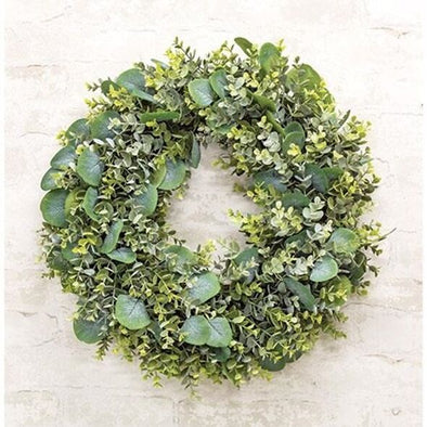 Farmhouse Eucalyptus Wreath, 20""