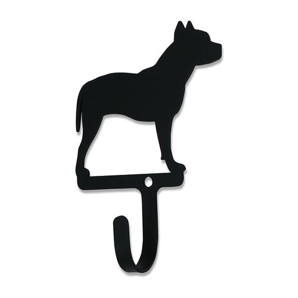 Pit Bull Wrought Iron Wall Hook Small