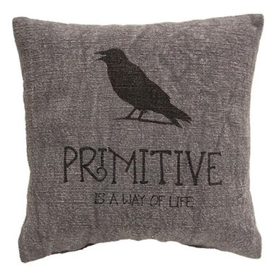 Primitive Pillow Black Crow Set