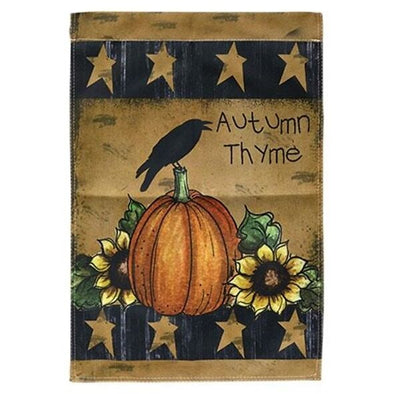 Primitive Garden Flag - Autumn Thyme