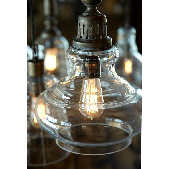 Vintage Pendant Light Fixture - Farmhouse Lighting