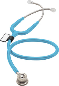 MDF® MD One® Stainless Steel Premium Dual Head Infant Stethoscope (MDF777I) - Pastel Blue