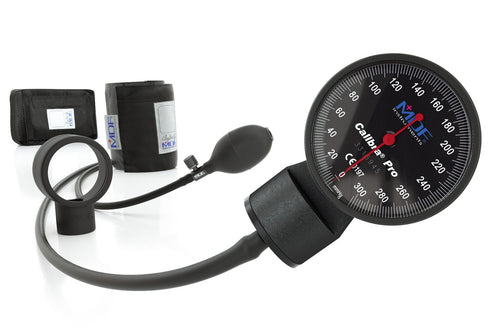 MDF® Calibra® Pro Sphygmomanometer Double Bellow Side Shot - BlackOut