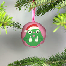 Load image into Gallery viewer, Christmas tree ornament - Henri thumbs up