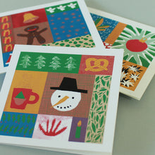 Load image into Gallery viewer, Christmas cards - Christmas collage