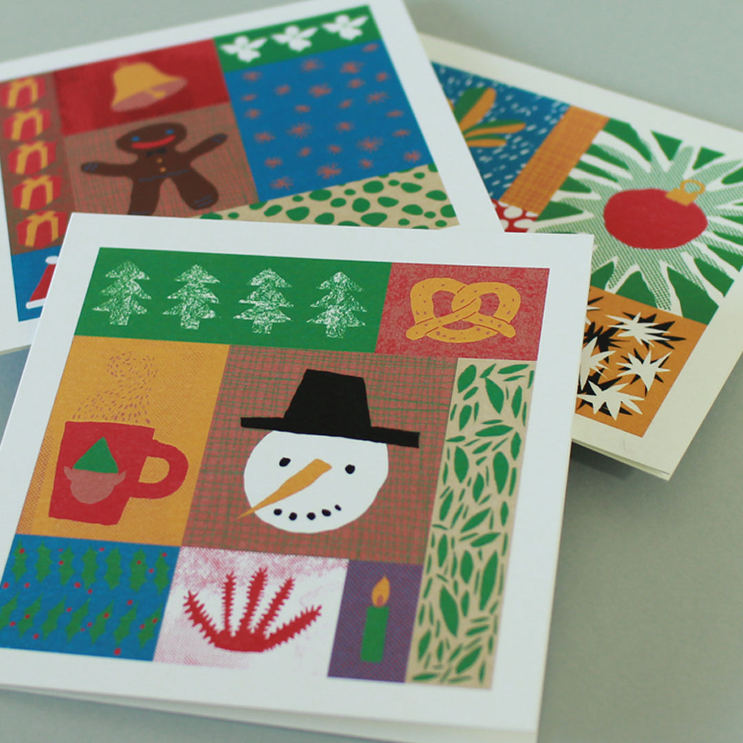 Christmas cards - Christmas collage