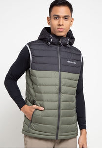 MEN'S POWDER LITE HOODED VEST