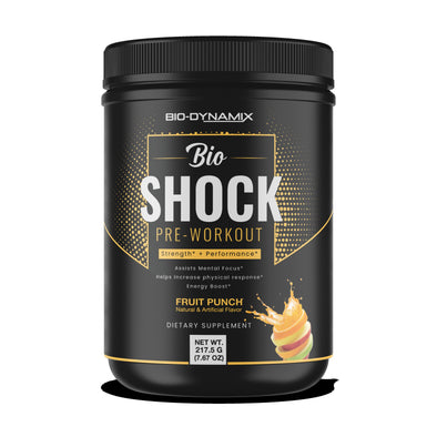 Bio Shock Fruit Punch Pre-Workout Bio-Dynamix