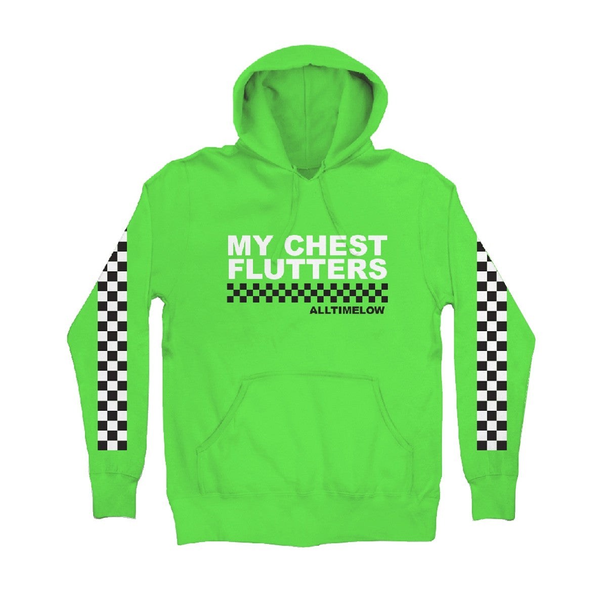 CHECKED HOODIE (GREEN)