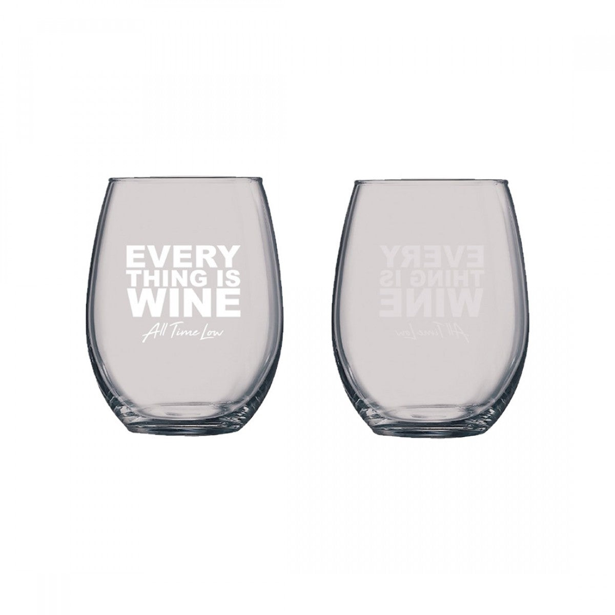 EVERYTHING IS WINE GLASS