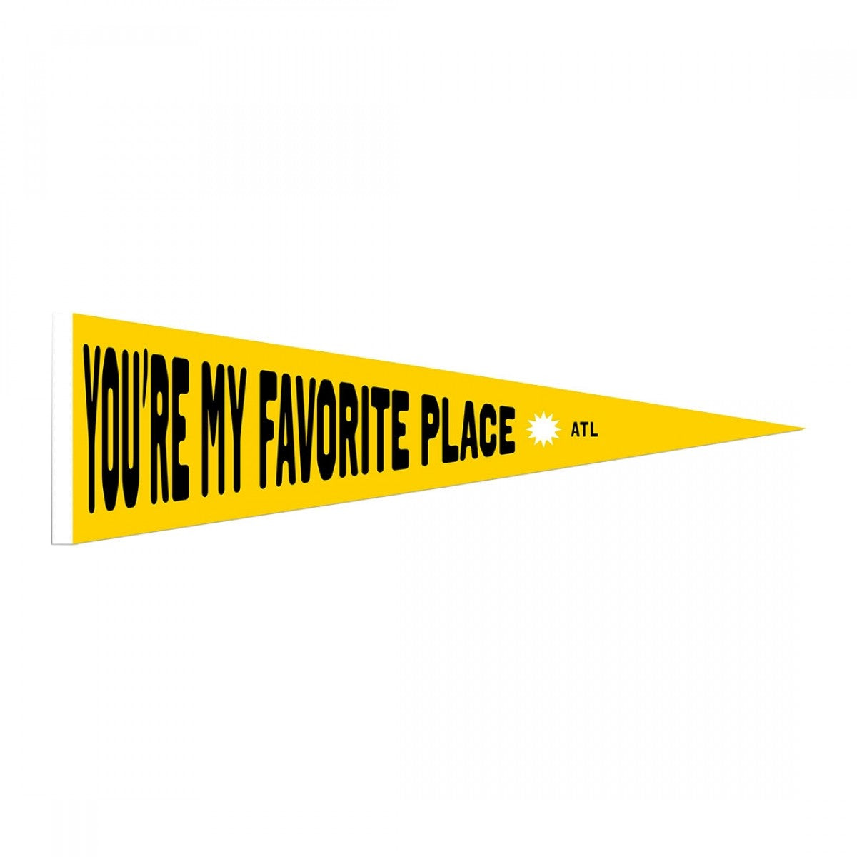 FAVORITE PLACE PENNANT (LIMITED EDITION)