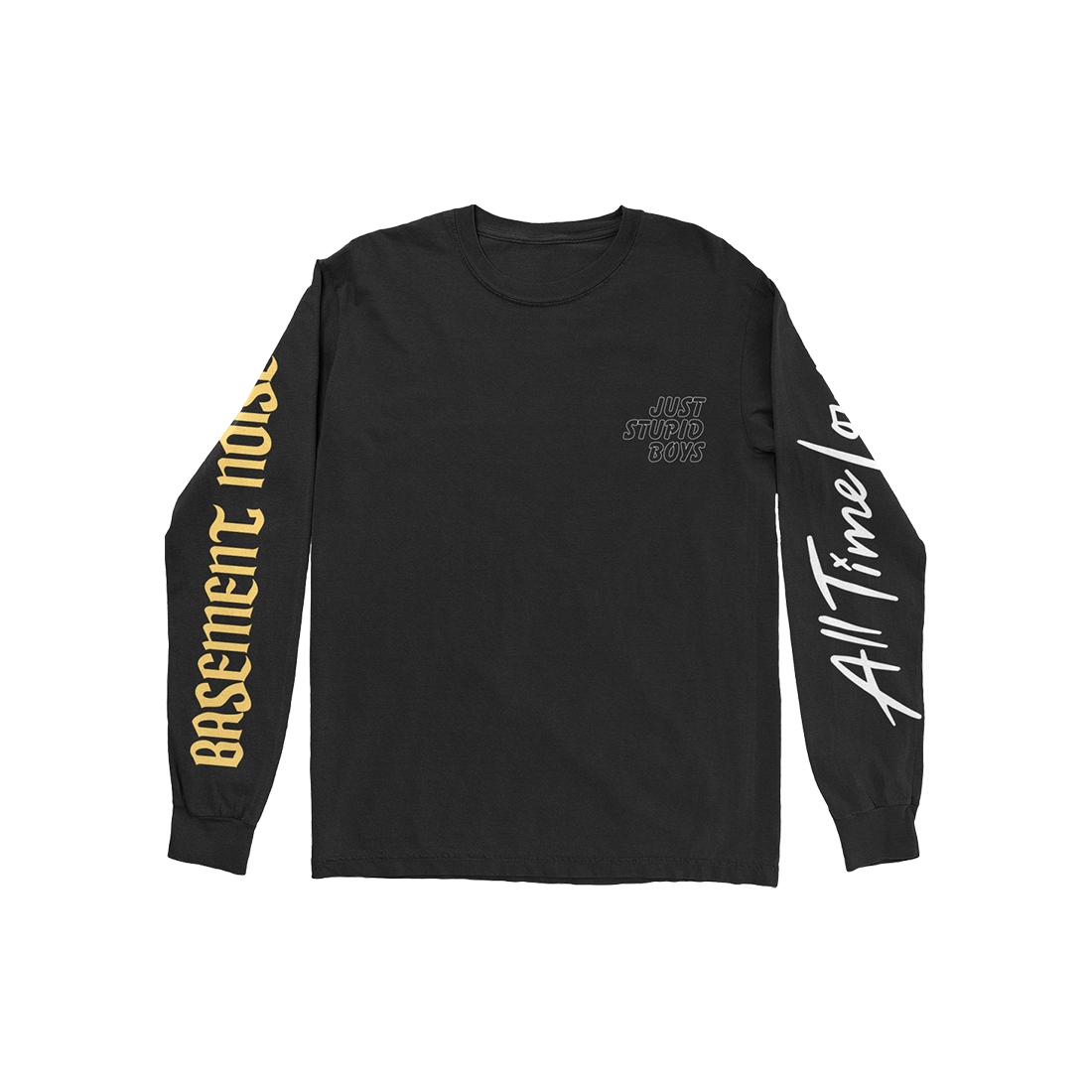 JUST STUPID BOYS LONGSLEEVE