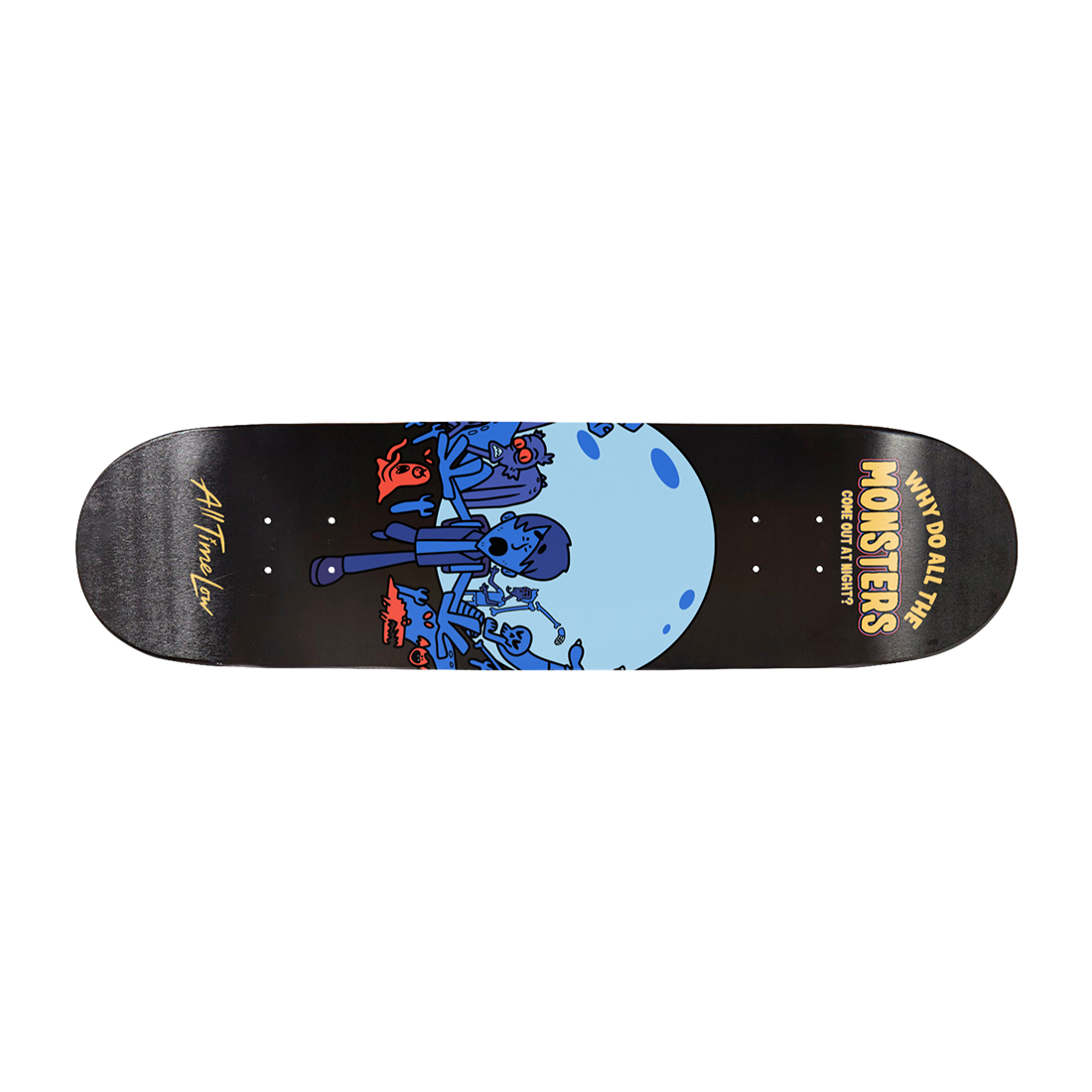 MONSTERS SKATE DECK