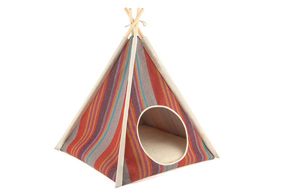 P.L.A.Y. Pet Teepee Tent, model Horizon Desert, SKU: PY6011AUF, on white background