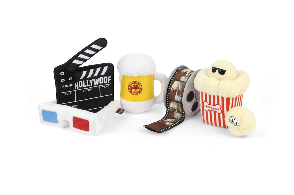P.L.A.Y. Hollywoof Cinema_ set of 5 toys, SKU: PY7118AUF, Barcode: 817152018988