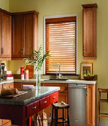 2in Premier Stained Basswood Blinds