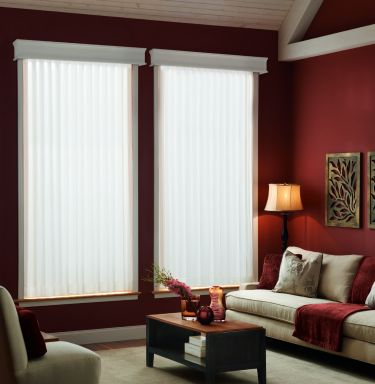 """3 ½"""" Fabric Verticals from the Atlanta Collection"""