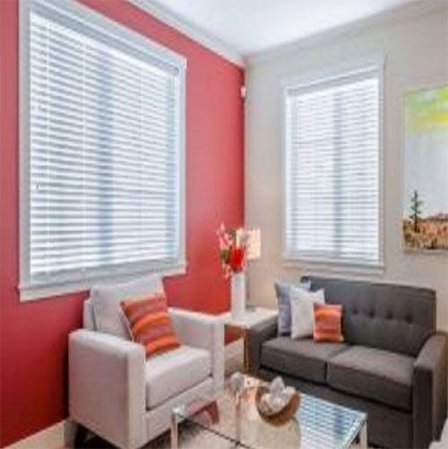 Cordless 2in Classic Faux Wood Blinds