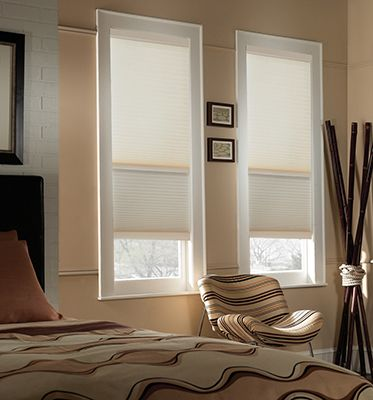 """Day and Night Cellular Shades 5/8"""" Single Cell Shades"""