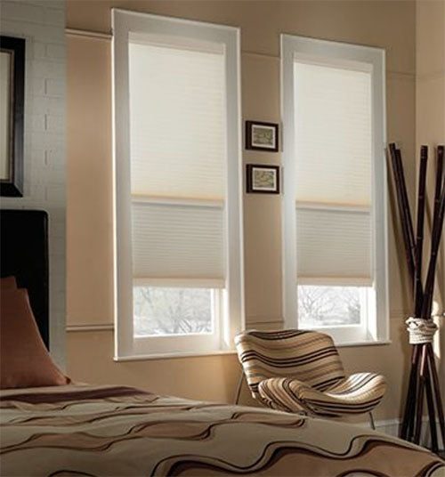 Day and Night Cellular Shades 58in Single-Cell Cordless Shades
