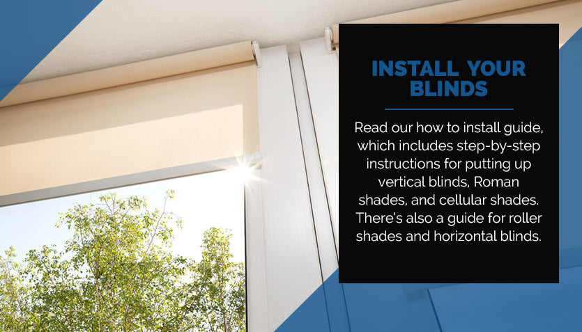 Install Your Blinds