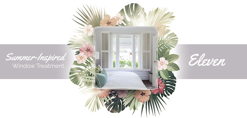 The 11 Most Summer-Inspired Window Treatments for Your Home Divider 11