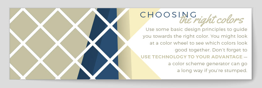 choosing the right colors quote