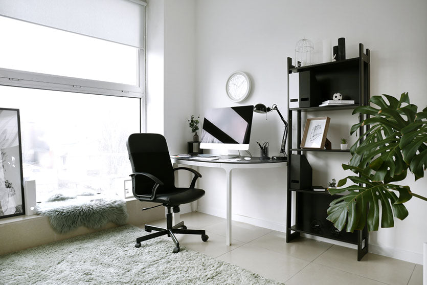 interior home office space