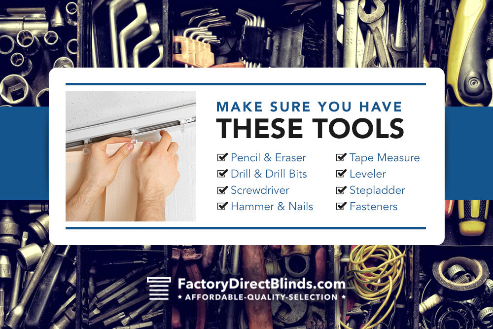 make sure you have these tools