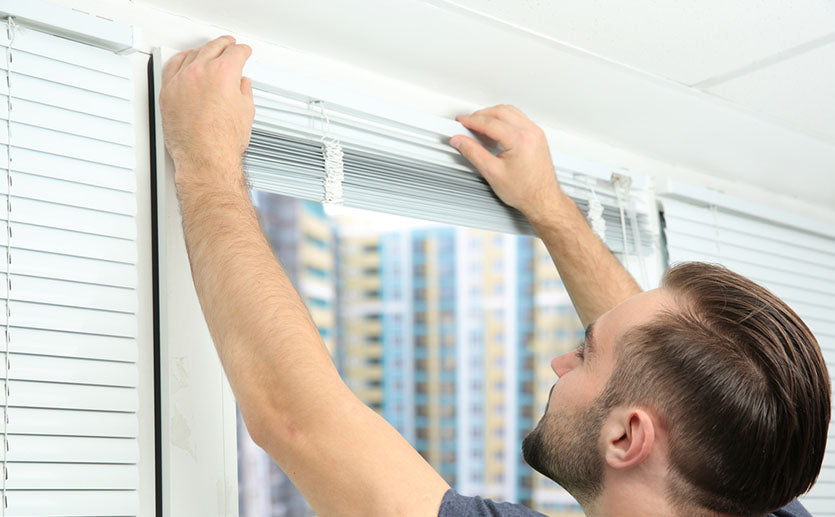 How To Install Window Blinds Without Drilling Factory Direct Blinds
