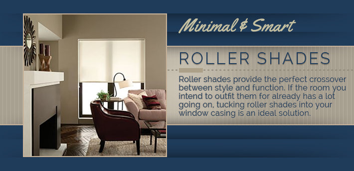 roller shades graphic
