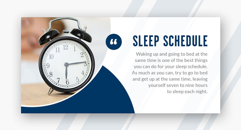 sleep schedule quote