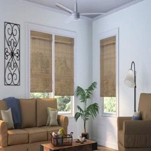 Woven Wood Cordless Shades