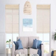 Load image into Gallery viewer, Woven Wood Cordless Shades