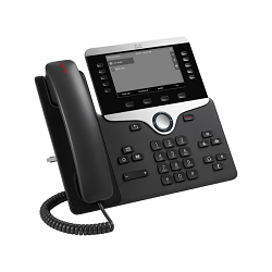 Cisco IP Phone CP-8845-K9 - IP video phone - with digital camera, Bluetooth inter - Commpro Technologies