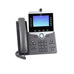 Cisco IP Phone CP-8865-K9 - IP video phone - with digital camera, Bluetooth inter - Commpro Technologies