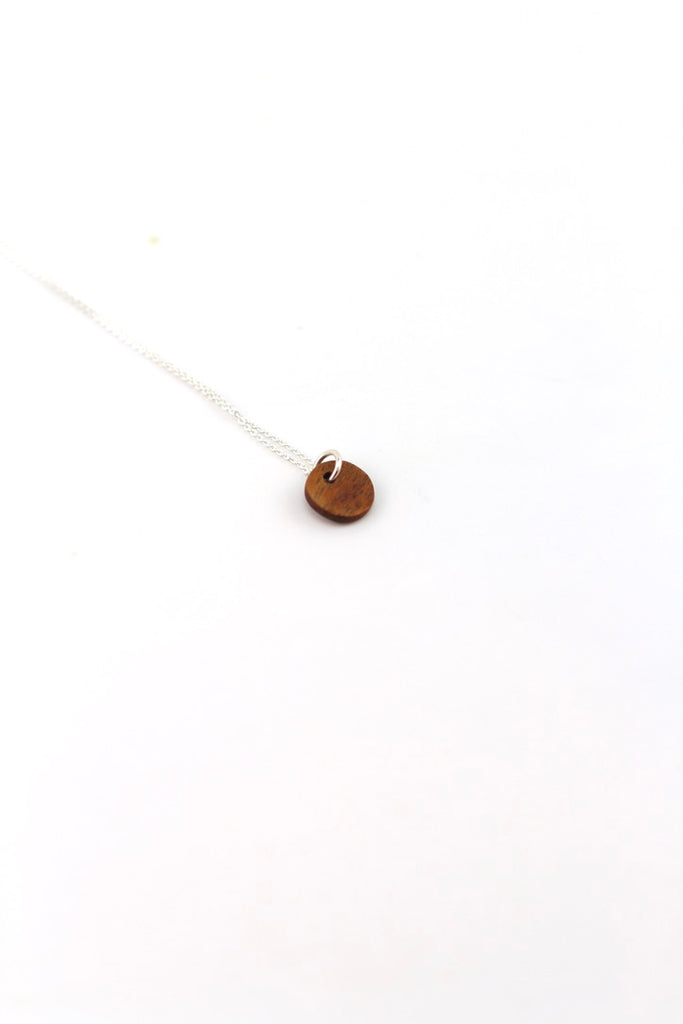 mahogany necklace