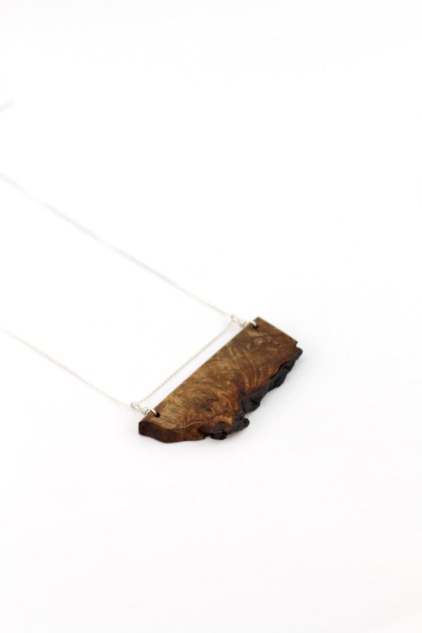 Live edge necklace