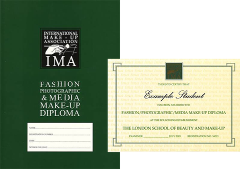 The Central School of Makeup - IMA Diploma in Fashion Photographic & Media Make-up