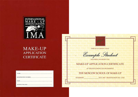 The Central School of Makeup - IMA Make-up Application Certificate