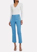 Load image into Gallery viewer, Robertson Sailor Cropped Trousers