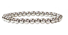 Load image into Gallery viewer, 6 mm Metal Beaded Bracelet