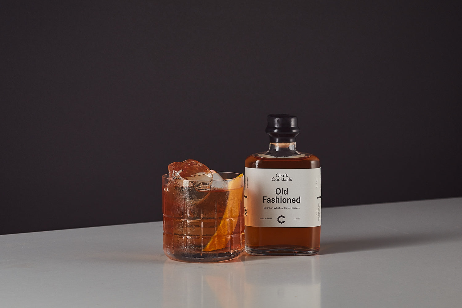 Old Fashioned (Serves 2)