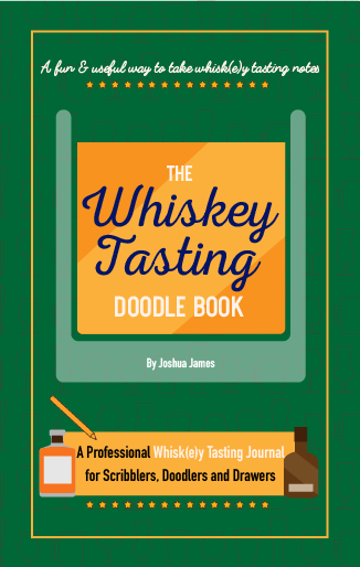 Whiskey Tasting Doodle Book Cover