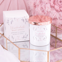 NEW Bergamot & Leather Jar Candle (Pack 4)