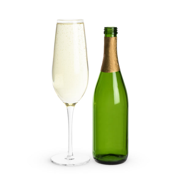 Big Bubbly: Full Bottle Champagne Flute