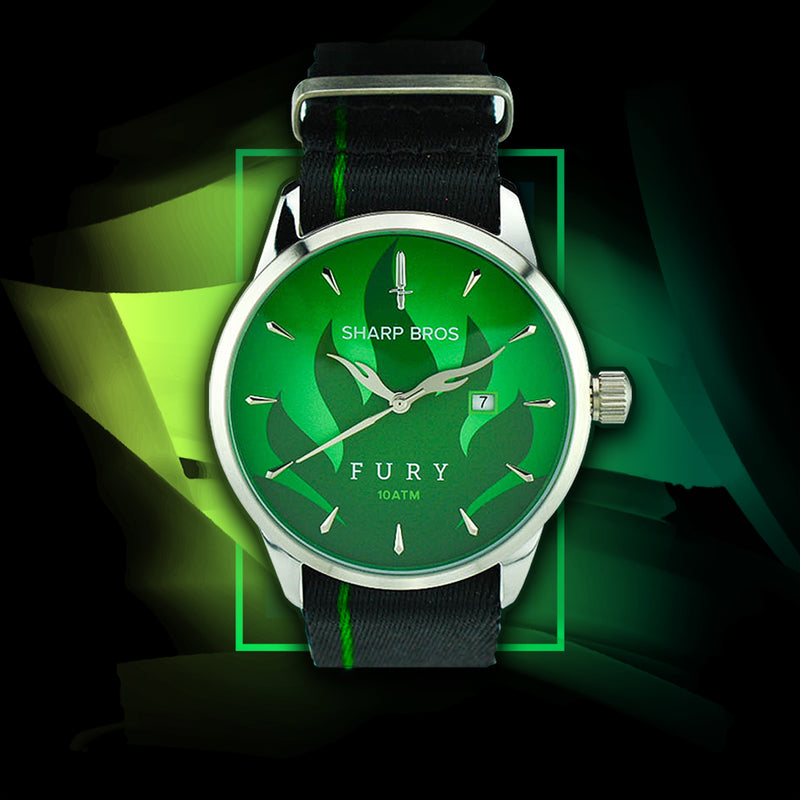 Fury Quartz Watch