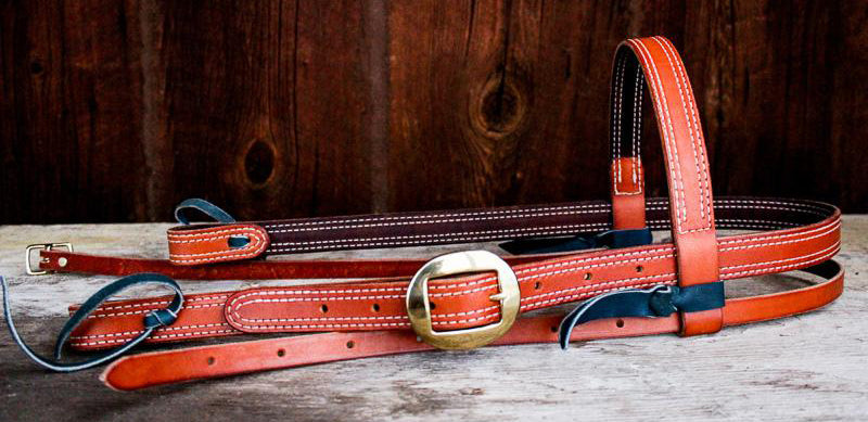 Double Stitched Premium Headstall