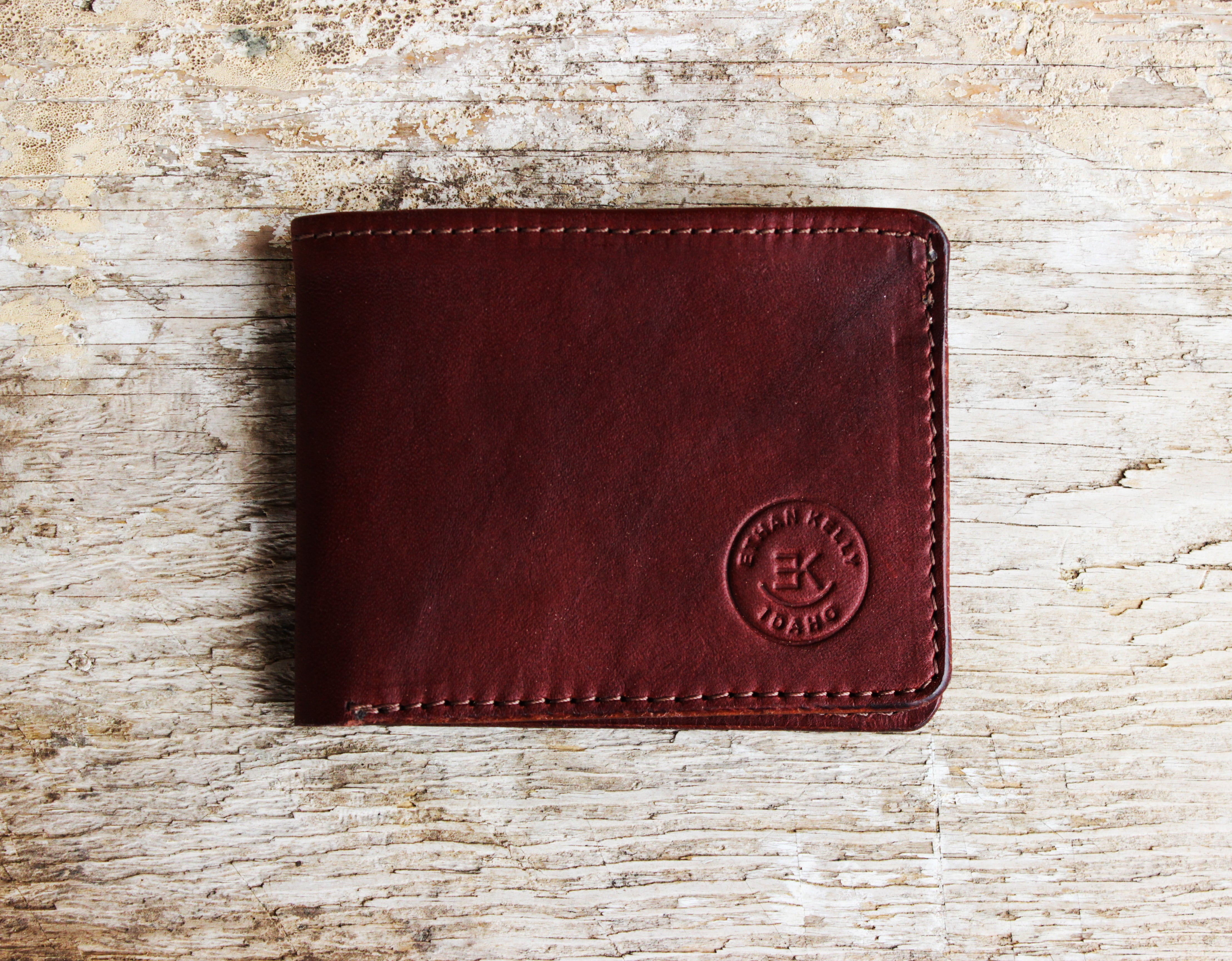 Premium Handcrafted Leather Bifold Wallet