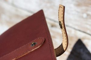 The Downtown English Bridle Clutch